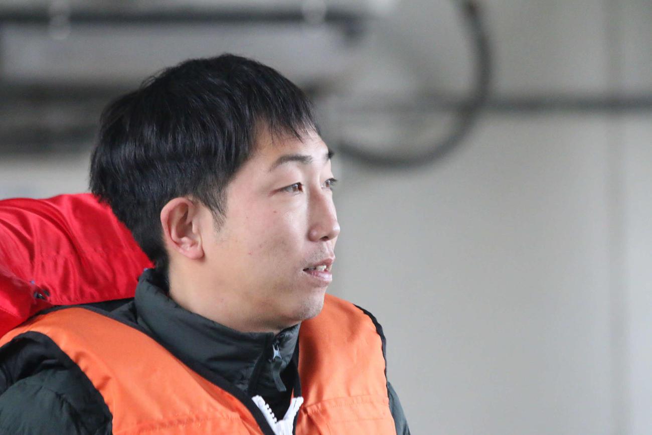 スタート練習で評判だった上村慎太郎が初日から活躍を見せる
