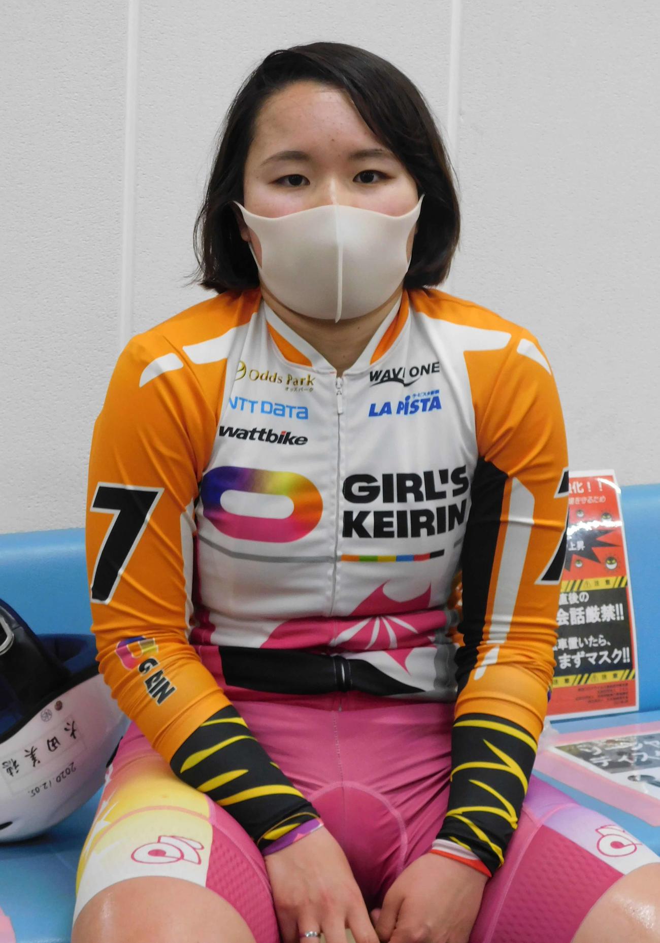 大垣競輪 予1・6Rで白星スタートを飾った太田美穂=2021年4月16日
