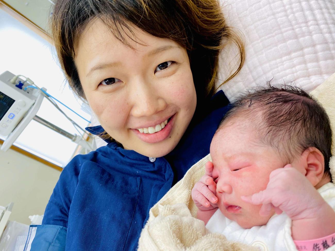 ガールズケイリン3期生の長沢彩が第1子を出産した