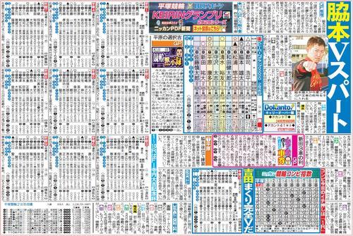 車券作戦に役立つ情報を無料で先取りできる平塚競輪「ニッカンPDF新聞」の一例