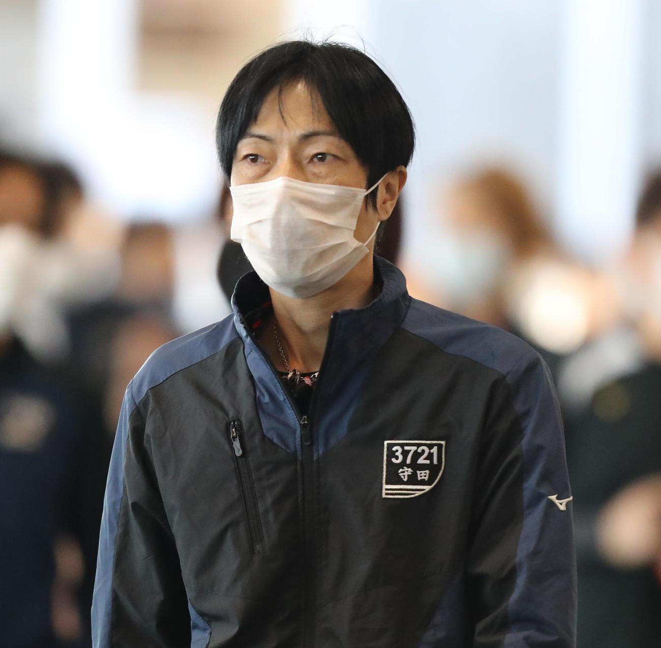 守田俊介がインのスタートに集中する