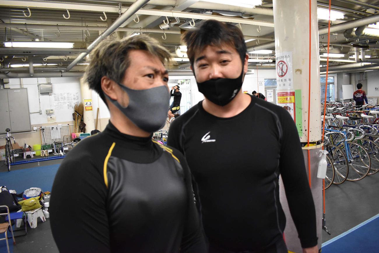 松坂洋平が加藤圭一(右)とのワンツー決着に胸を張った