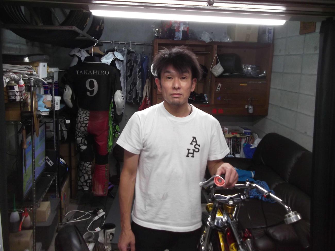 前節G1から成績が安定している地元の松尾隆広(撮影・小川将司)