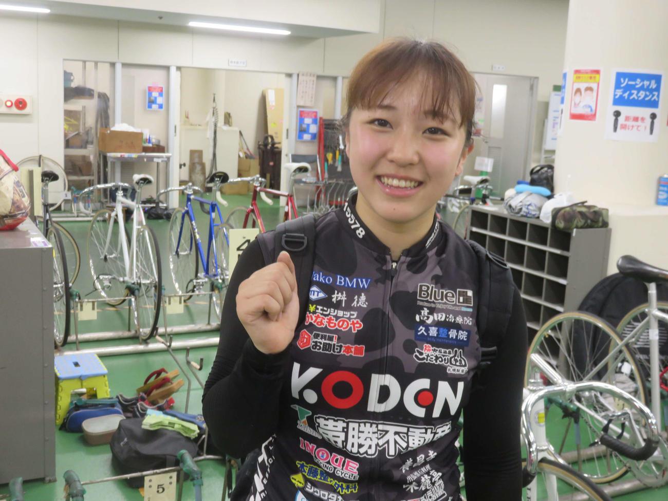 本格デビュー2戦目で初めて勝ち上がりの確定板に載った飯田風音