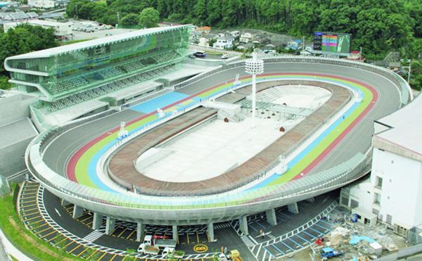 第64回オールスター競輪を開催する福島県・いわき平競輪場