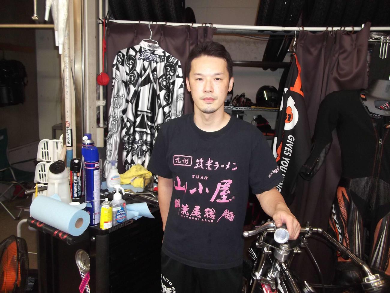 準決勝戦A10Rを1着で通過した渡辺篤が快速を発揮(撮影・小川将司)