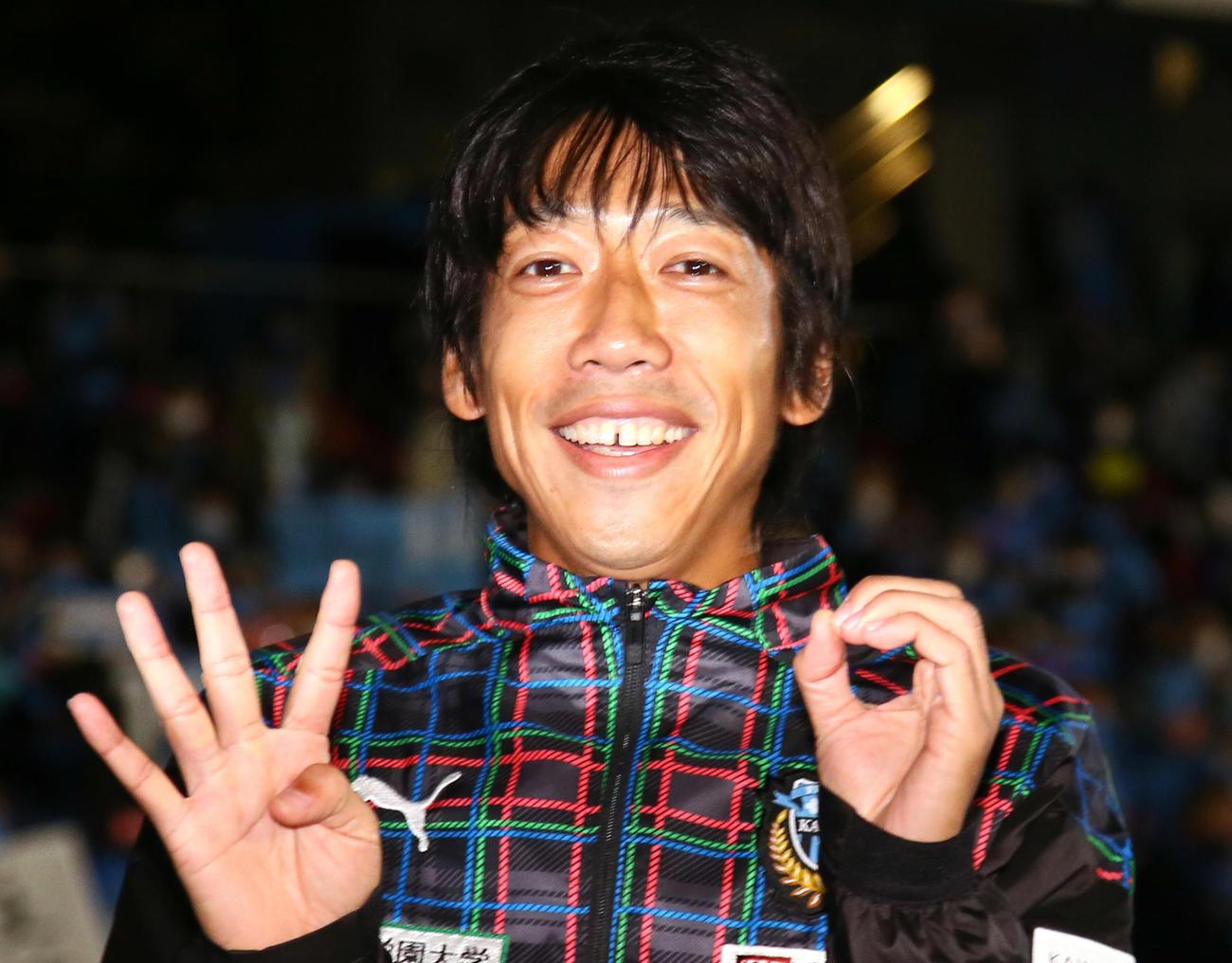 中村憲剛さん(2020年撮影)