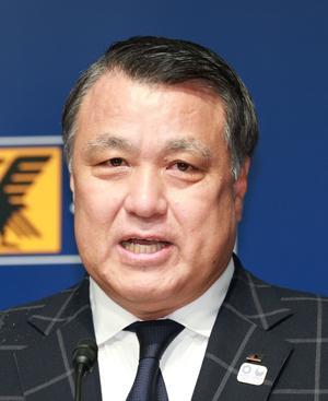 日本サッカー協会 田嶋幸三会長