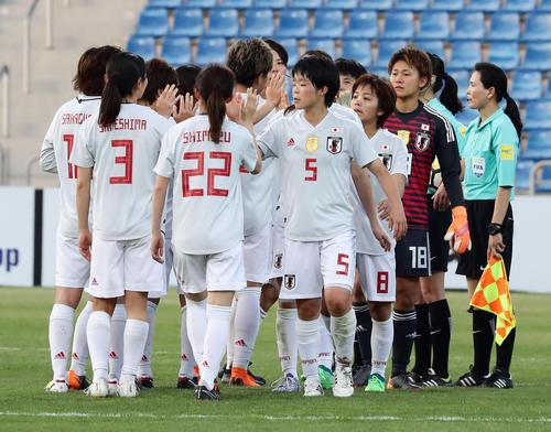 日本対オーストラリア  1-1でW杯出場を決めるも喜ばない日本(撮影・浅見桂子)