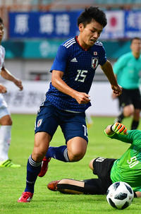 U21久保建英アシストで上田ハット 5発快勝 - 日本代表 : 日刊スポーツ