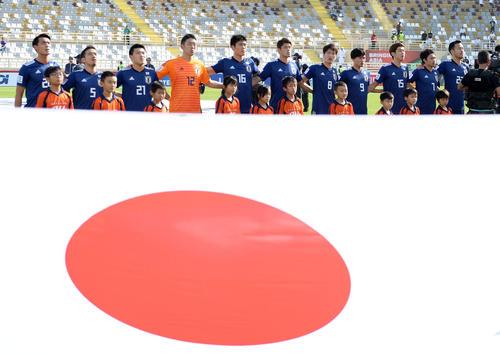 日本対トルクメニスタン(撮影・横山健太)