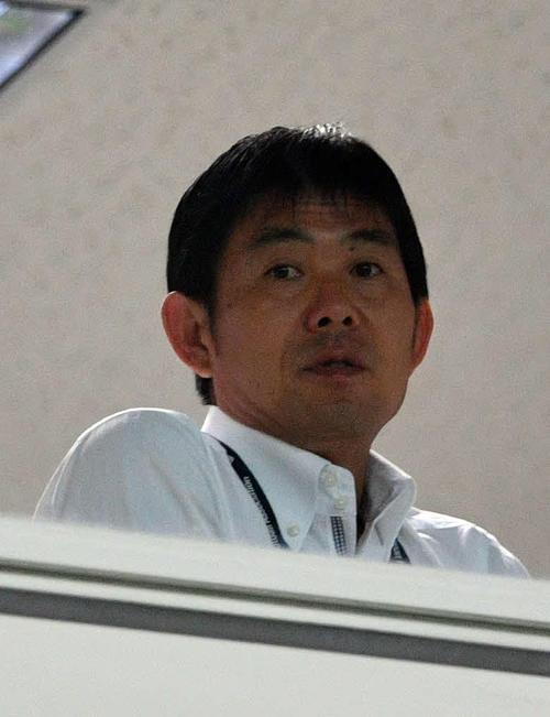 森保日本代表監督(2019年8月17日撮影)