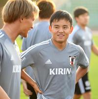 久保建英「先をいっている」ラグビー日本から刺激 - 日本代表 : 日刊スポーツ
