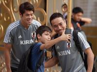 長友「ラグビーに負けないぐらいみんなを元気に」 - 日本代表 : 日刊スポーツ