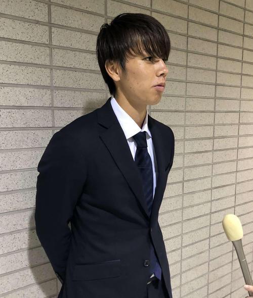 ブラジル遠征から帰国したU-22(22歳以下)日本代表MF田中