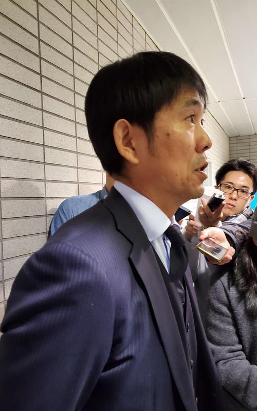 兼任する五輪世代を率いたU-23アジア選手権を終えて帰国した日本代表の森保監督