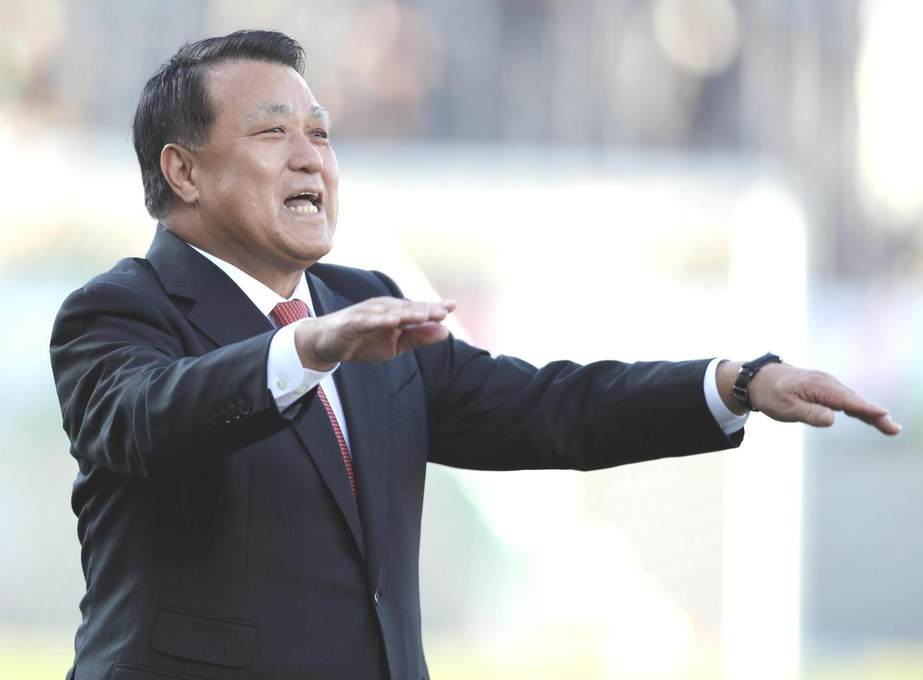 日本サッカー協会の田嶋幸三会長(2019年12月29日撮影)