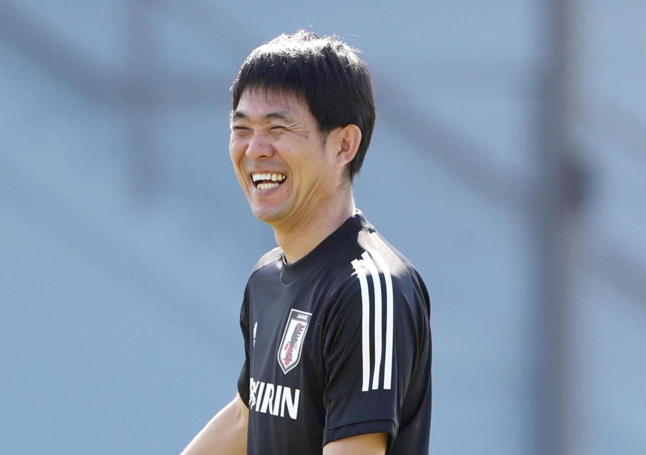 サッカー日本代表の森保一監督(2020年1月4日撮影)