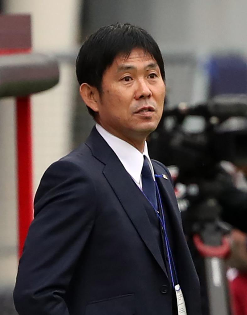 森保一監督(2020年10月9日撮影)