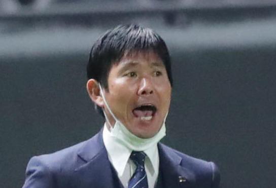 日本代表の森保一監督(21年6月撮影)
