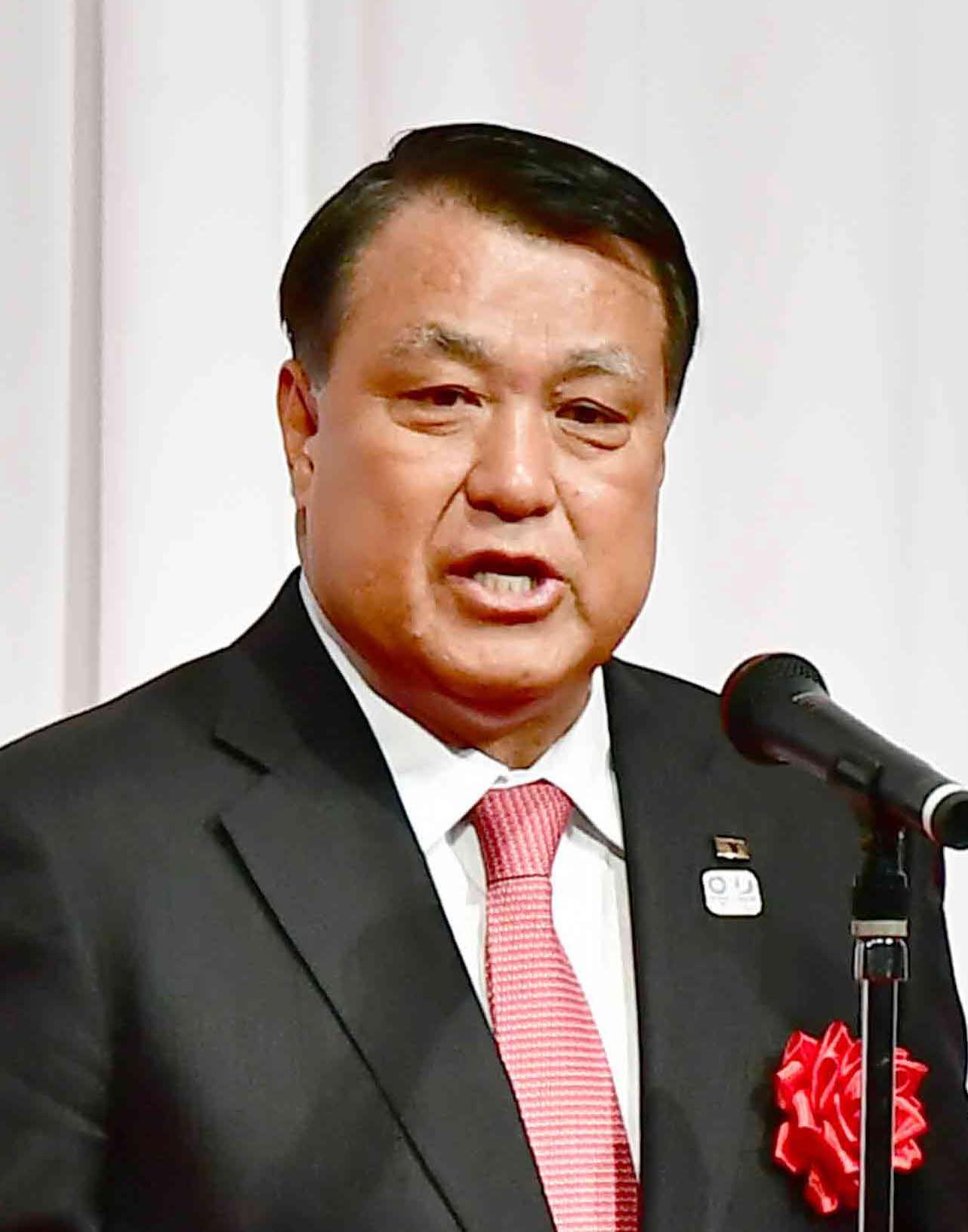 日本サッカー協会の田嶋幸三会長(2019年11月4日撮影)