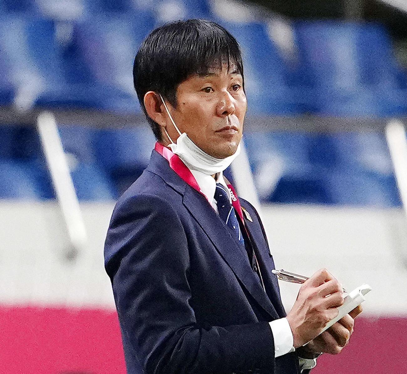 日本代表・森保一監督(2021年7月25日撮影)