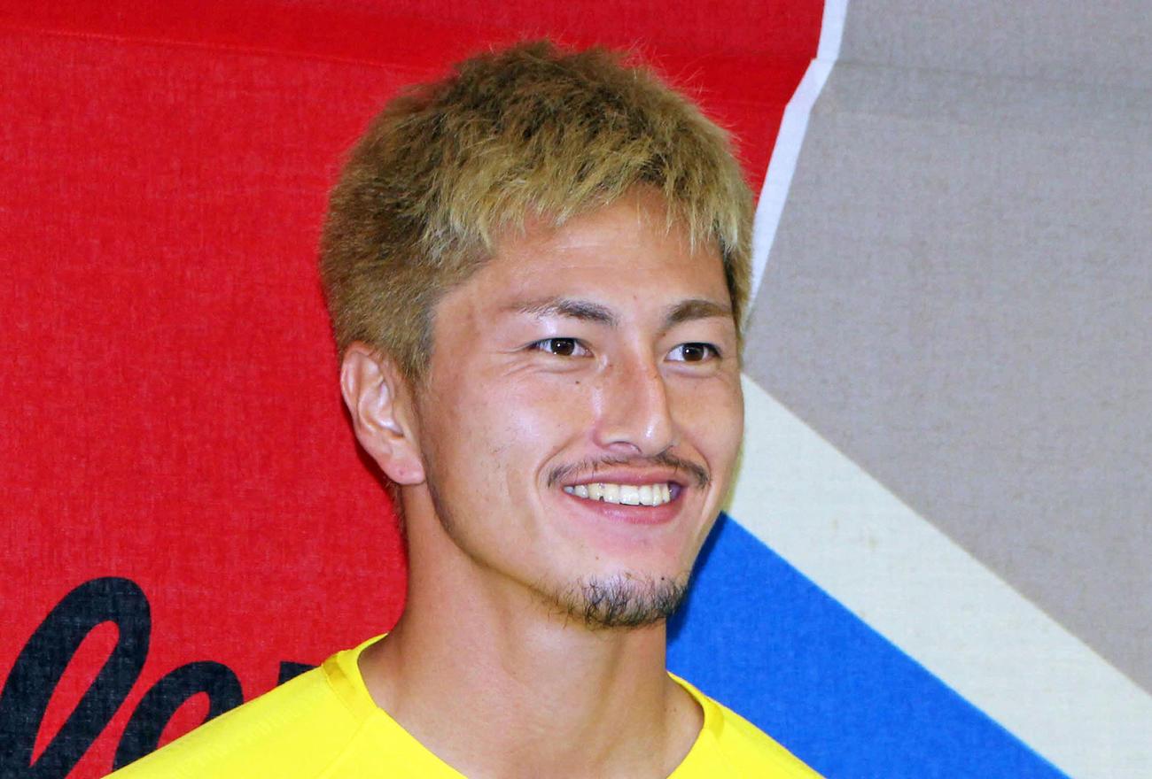 FW鈴木優磨(2019年7月16日撮影)