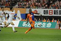 本拠勝利遠い…新潟ターレス弾も主導権握れずドロー - J2 : 日刊スポーツ