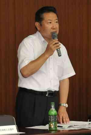 構想連絡会に参加した沼津の渡辺社長