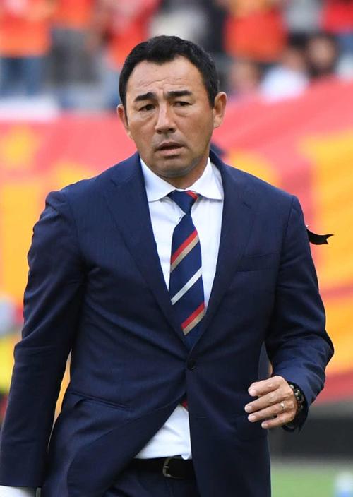 FC東京長谷川健太監督(2018年4月28日撮影)