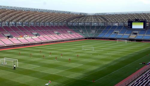 ユアテックスタジアム仙台の全景
