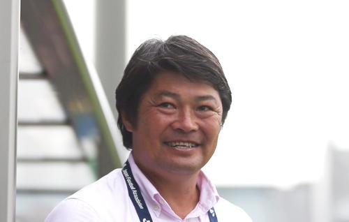 西村昭宏氏(2013年9月6日撮影)
