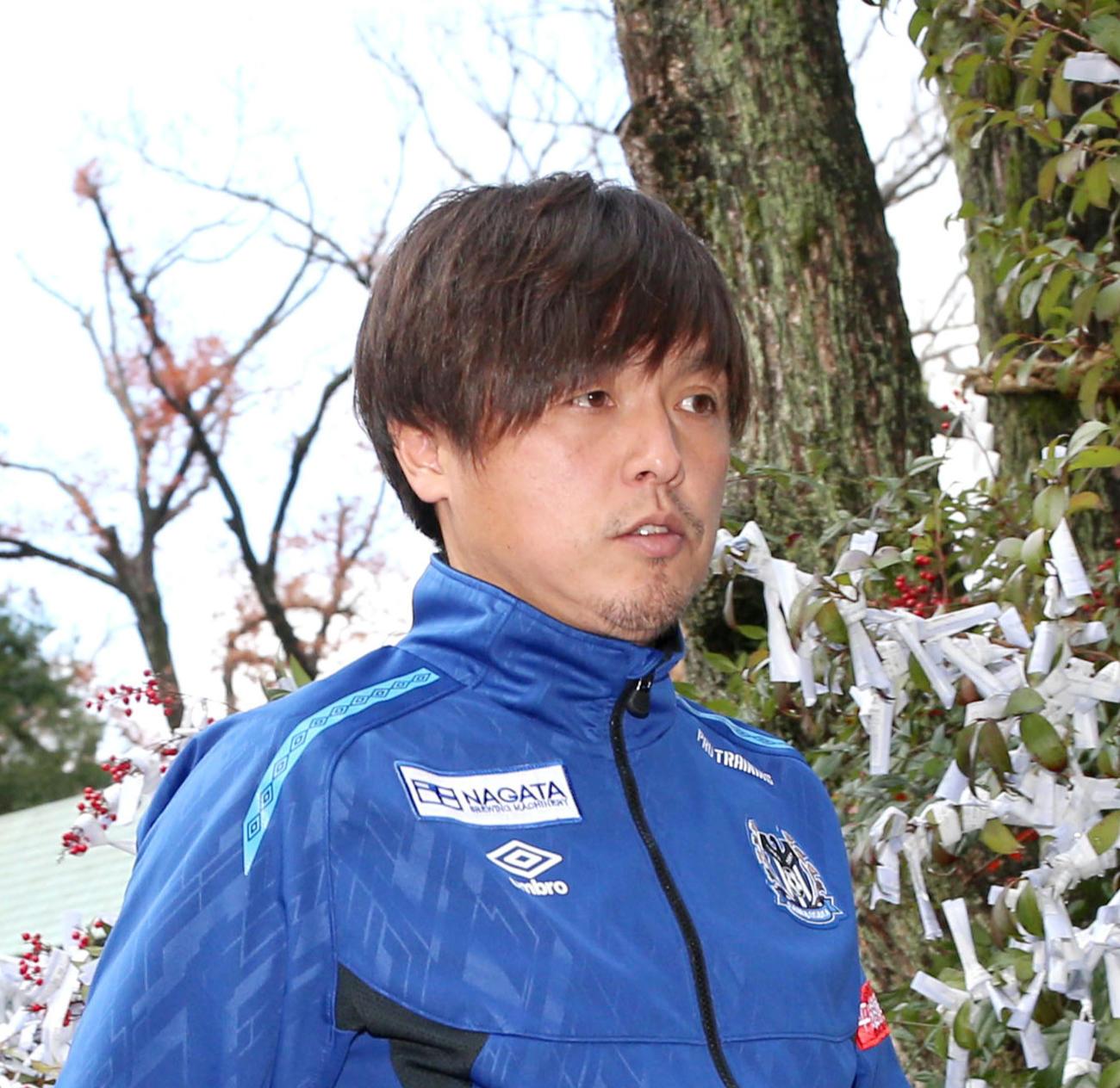 G大阪遠藤保仁(2020年1月8日)