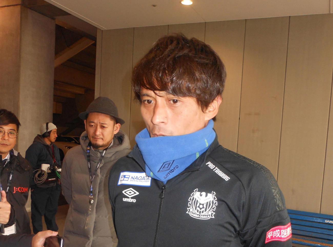 G大阪宮本監督はJ1開幕横浜戦に向けて胸中を語る