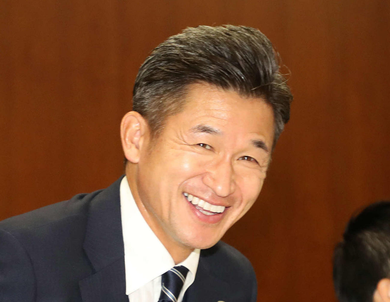 横浜FCカズ(19年12月撮影)