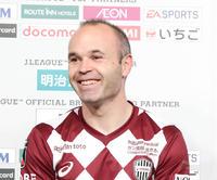 イニエスタ帰国せず 28日から5連休は日本で静養 - J1 : 日刊スポーツ