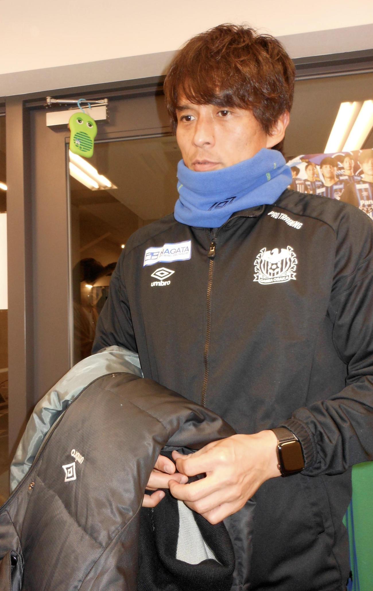 G大阪宮本監督はJリーグ中断期間について語る