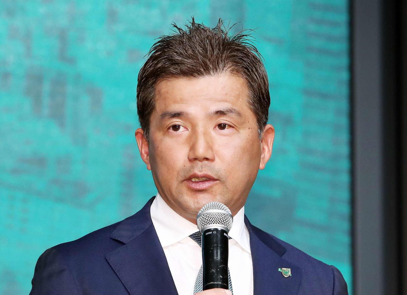 東京ヴェルディ永井秀樹監督(2020年1月20日撮影)