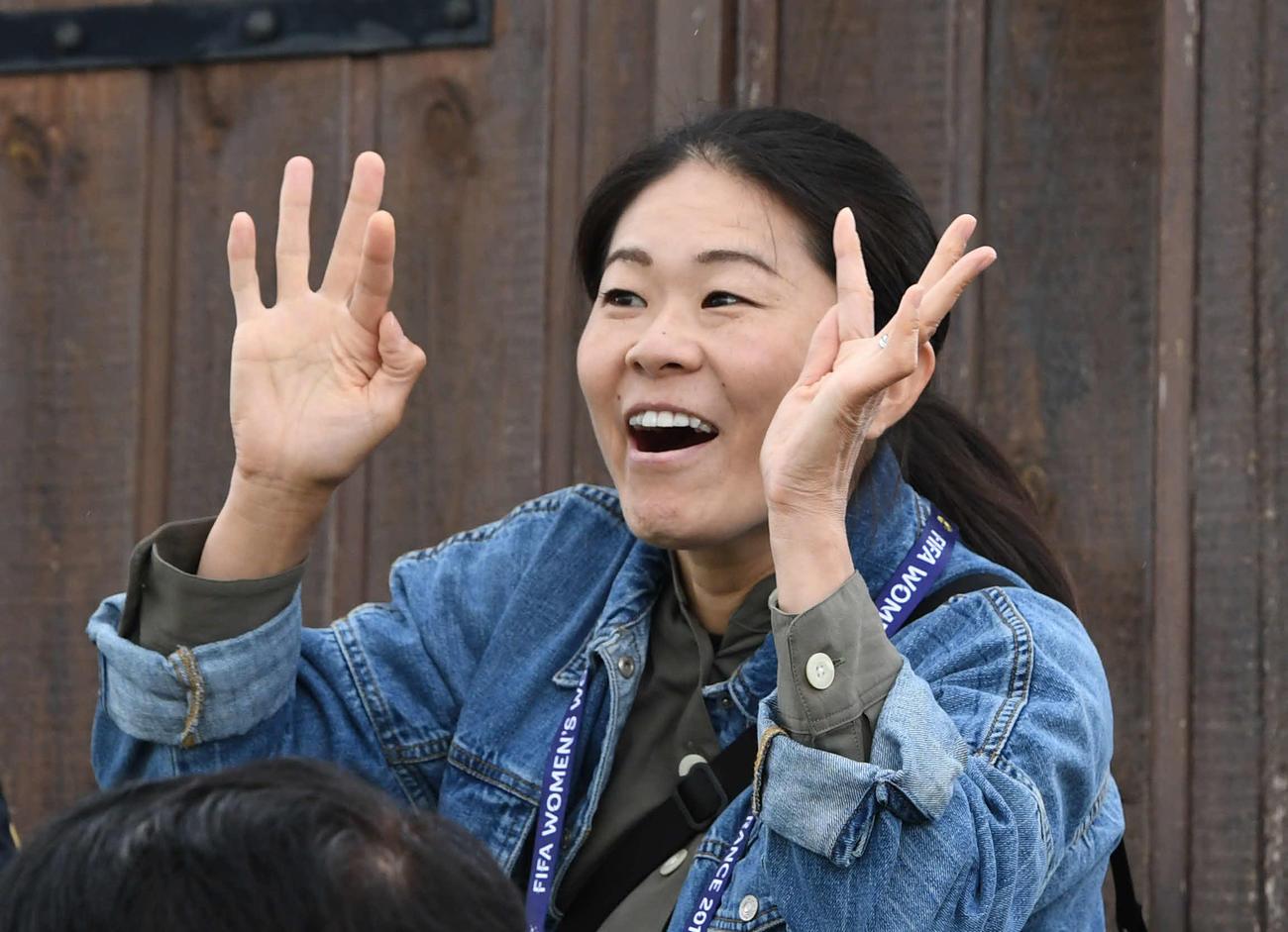 澤穂希さん(2019年6月13日撮影)