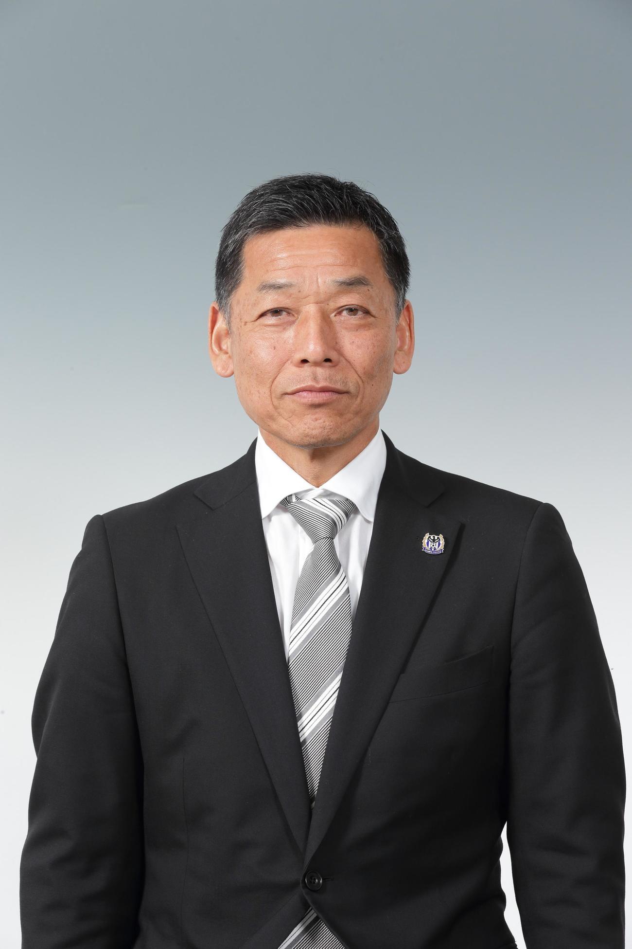 G大阪の小野忠史社長(C)GAMBAOSAKA