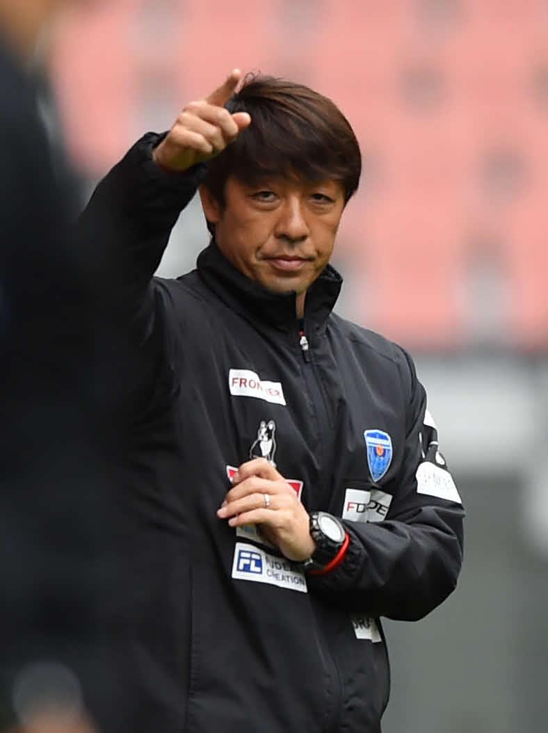 横浜FC・下平隆宏監督(20年3月28日撮影)
