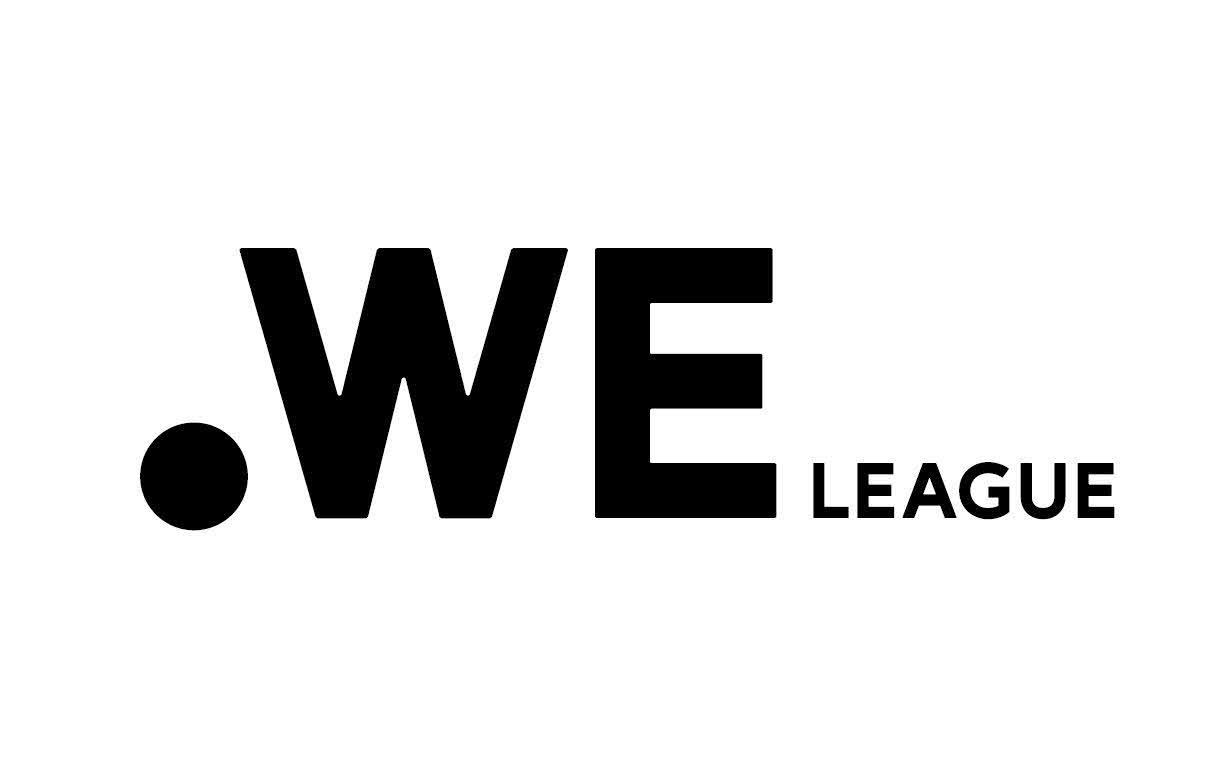 女子サッカープロリーグ「WE LEAGUE」のロゴ