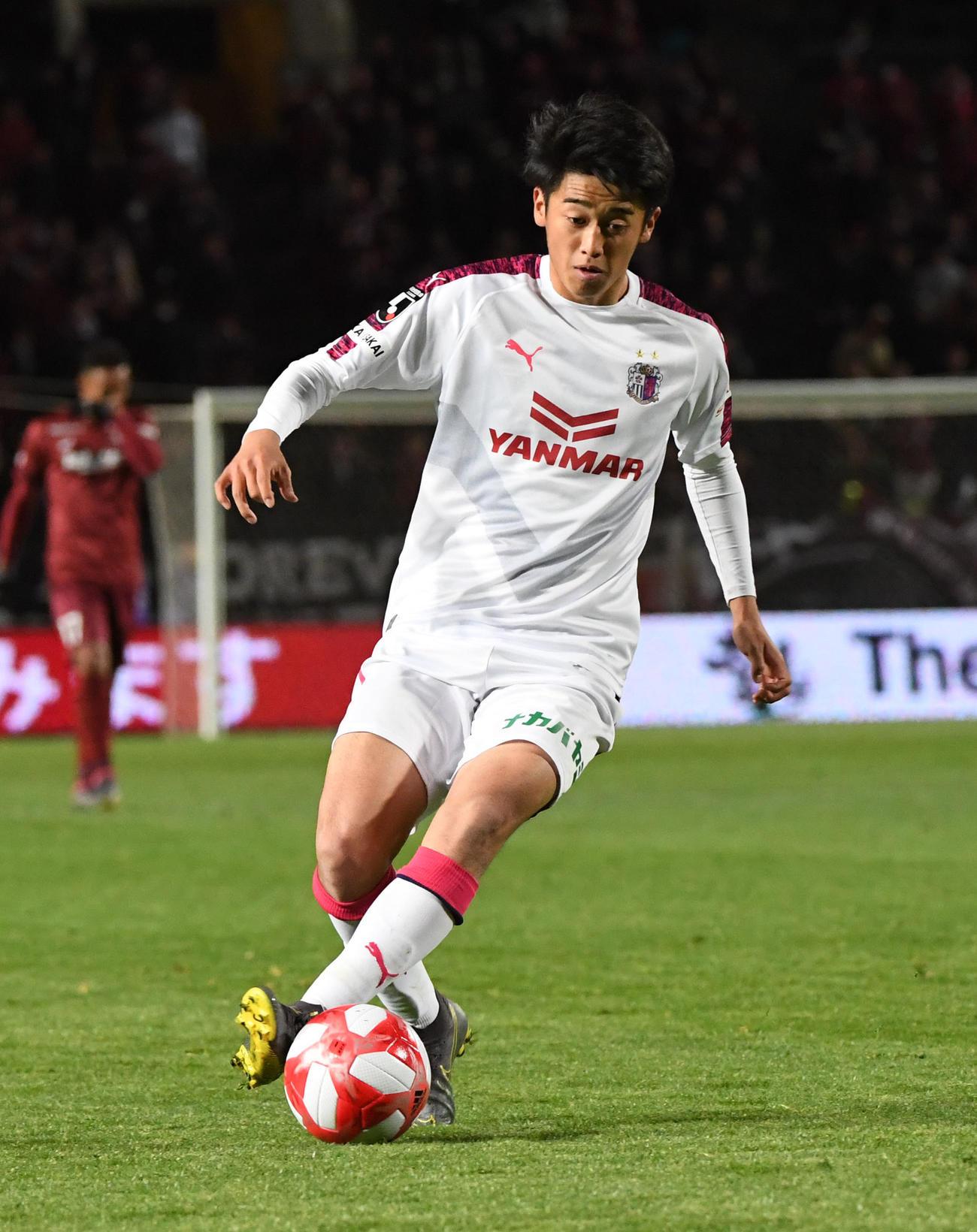 西川潤(2019年3月13日)