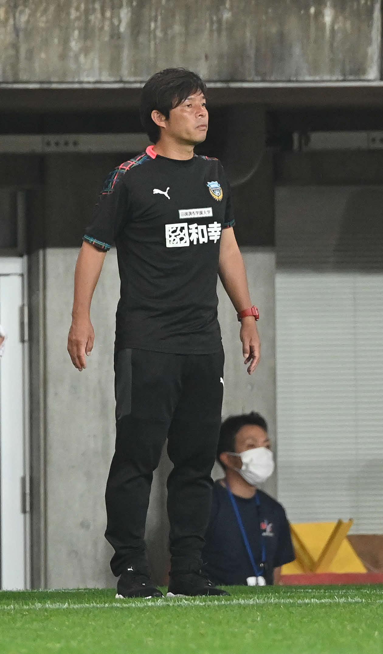 川崎F・鬼木達監督(2020年7月22日撮影)