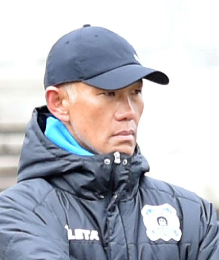 J3秋田の吉田謙監督(2020年3月6日撮影)
