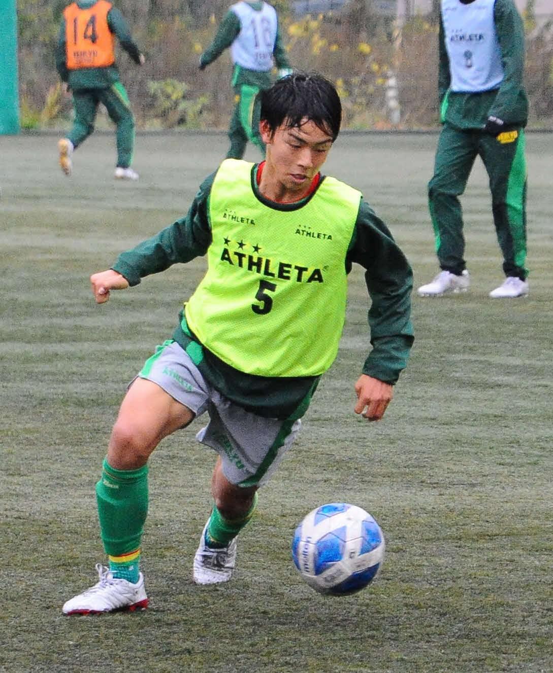 U-15日本代表候補合宿で手応えをつかんだ帝京長岡・広井