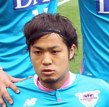 16年、鳥栖でプレーしていた岡田翔平