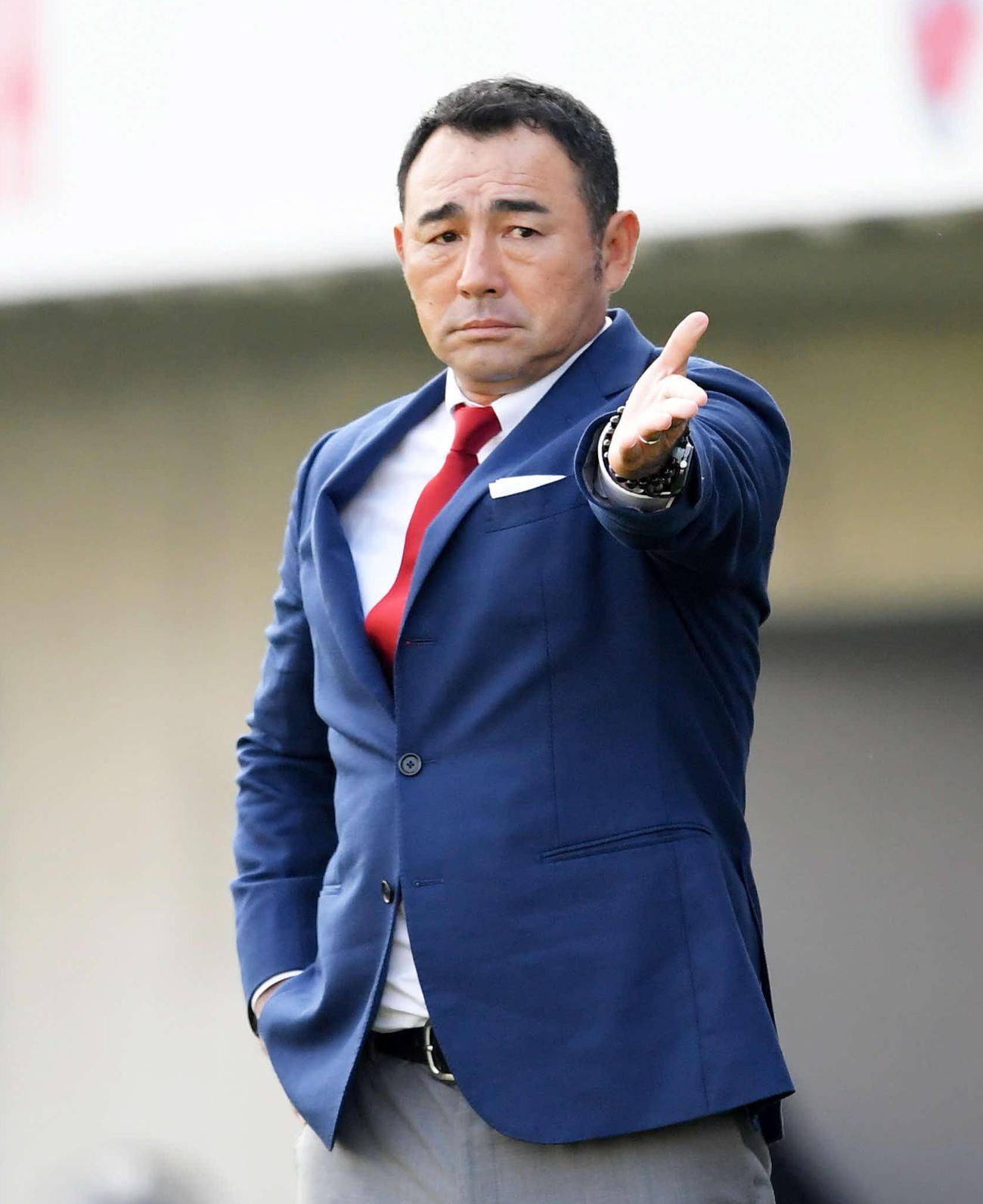 東京 長谷川健太監督(19年11月9日撮影)