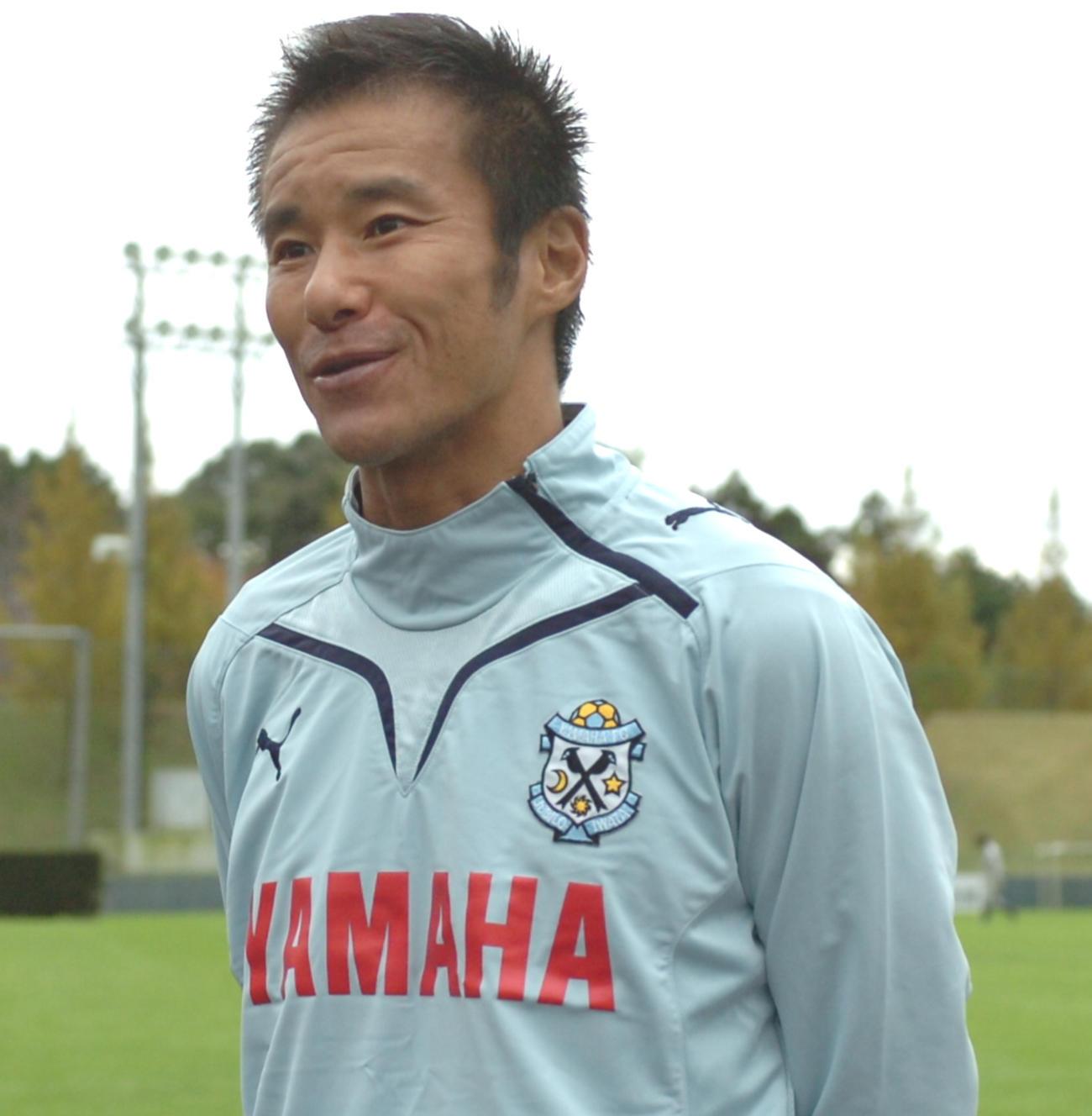 中山雅史(2009年11月12日撮影)