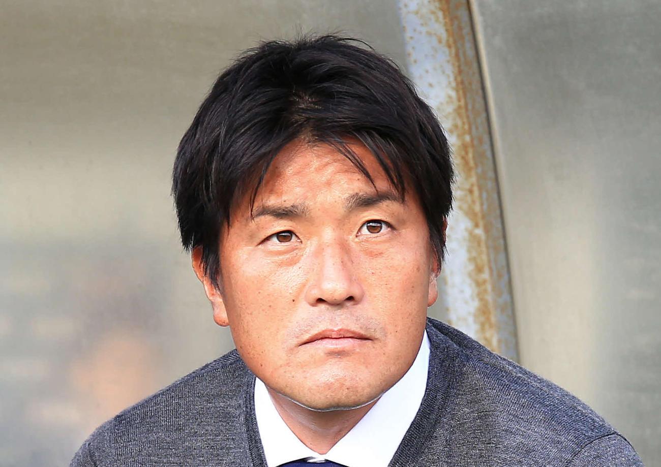 大宮の岩瀬健新監督(2018年12月1日撮影)